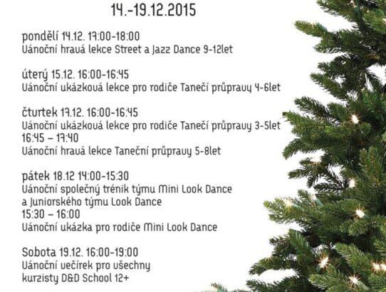 Vánoční týden v D&D School + další info