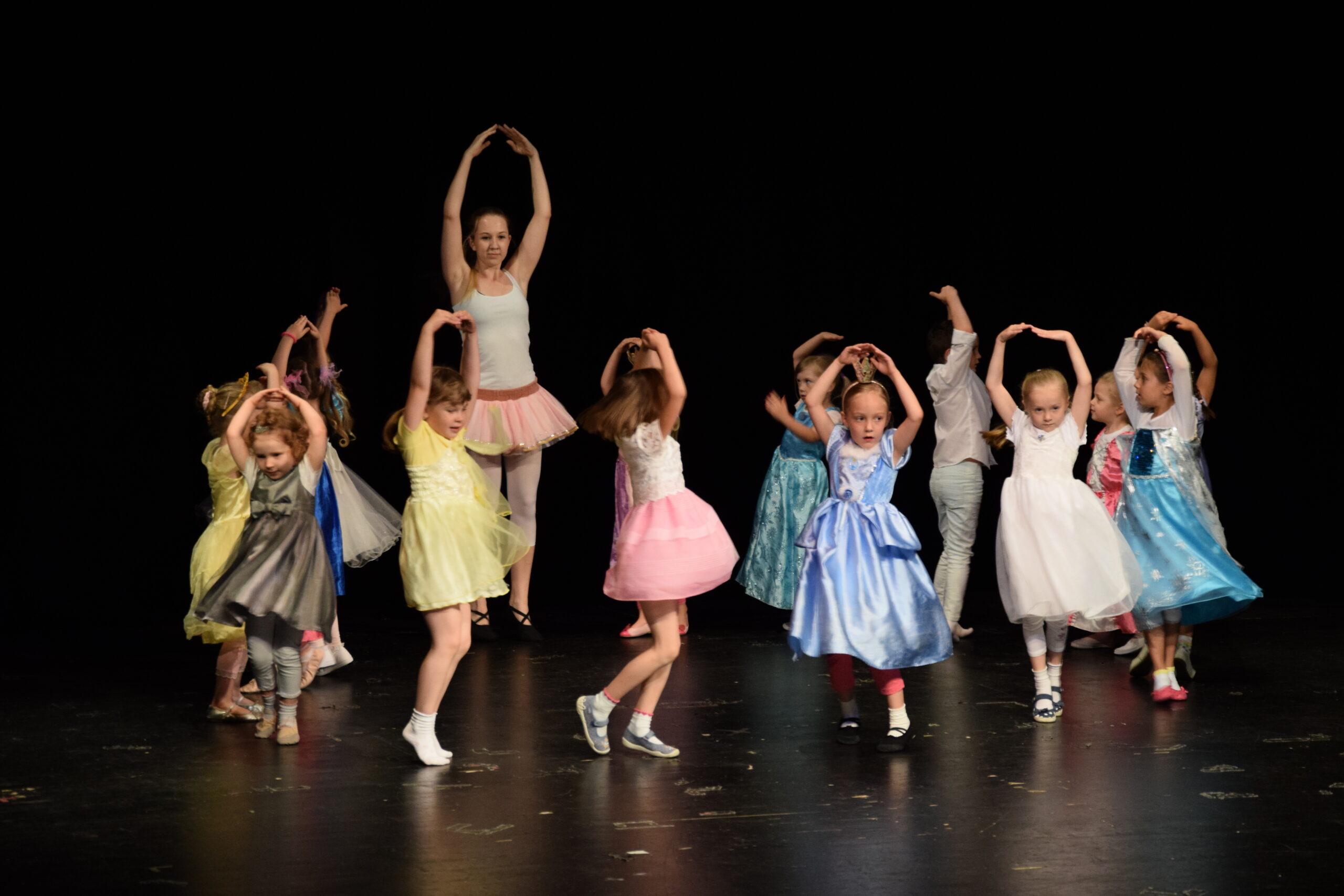 taneční průprava děti